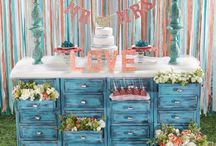 Coral and Teal Wedding / Love's Ideal with a coral and teal themed wedding! / by Hobby Lobby