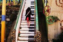 I'll take the stairs.... / by Elizabeth Kulig