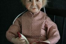 One-of-a-Kind Dolls by Artist Jane Adams / by Beth Hayden