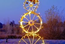 Unique Christmas Lights / Stand out this Christmas season with inspiration from these unique lighting ideas! / by 1000Bulbs.com