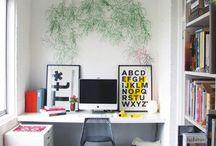 Work space ideas / by Stephanie Hernandez