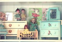 Playing with Dolls / for the girls / by Honey Gillespie