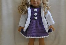 Dolls and doll clothes / by Marjorie Edwards