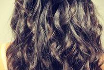 curly hair / by JimmyandApril Singleton