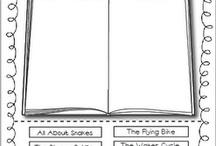 School: reading  / by Katie Edwards