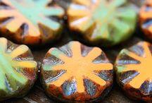 Czech beads / by Anna Terry