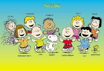 "The ""Peanuts"" Gang / by Cindy Priko-Thiele"