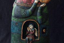 art dolls / by Paula McGee