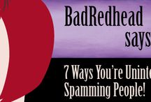 'BadRedhead Says...' My monthly column for the San Francisco Book Review!  / by Rachel Thompson