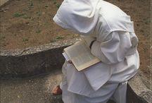 Monastic Life / monks, nuns, priests, monastery, spiritual life / by Gyan Priya