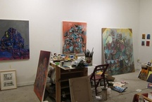 Artist Studio's and Working Space / by Helma Cauberg