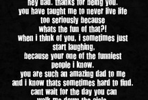 Daddy quotes / by Kristen Broadhead