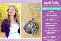 {Origami Owl} Inspiration / Every locket tells a story....What's yours?  ~  locketsbydesi.origamiowl.com / by Desiree Lambert