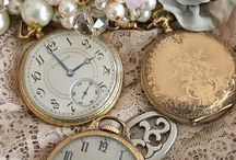 Keys, Pocket Watches, Lockets, Charms / Vintage style key charms, pocket watches, lockets and other items. / by I Share My Pins!