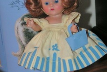 """Vintage (and new) 8"""" Ginny, Ginger, MA, Muffie Treasures / by Diana McNeilly"""