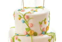 Pretty cakes and cookies / by Kellie Boyer