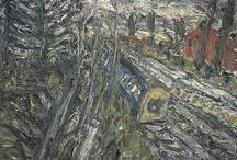 Frank Auerbach / by John Kline Kansas City Artist