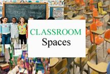 Classroom Spaces / Effective and inspirational classroom spaces. / by Tree Top Secret Education