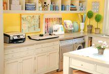 My Fiskars DIY Dream Craft Room  / designing my ideal craft room  / by Jennifer Essad