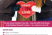 Helzberg Diamonds Crazy Pin Love giveaway!  / by Lexia Nash