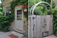garden patio / by Laura Katherine