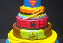 decorated cakes or cupcakes / by Angie Cline