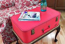 Old suitcase ideas / by Ivey Crenshaw