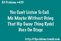 R5 Problems / by R5 Family Pinterest