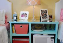 Dorm Room Decorations / Get some great ideas for decorating your dorm room or apartment at UTSA! / by UTSA Libraries