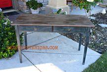 furniture make/repair / by Brooke Roe