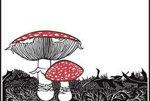 mushroom / by Hazel TheBunny