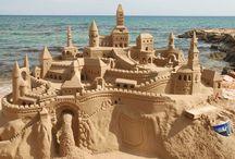 Sand castles / by Kelsey Burgett