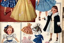 Vintage dolls and dolls clothes / by Rebecca Obrien