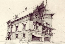 Art and Architecture / Drawings and paintings involving architecture / by Emmanuel Martin