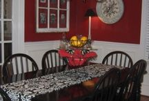 Red room ideas / by Shawna Fisher