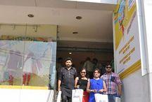 'Katha ta Etiki' stars at Rajo festivities at Max Bhubaneshwar / Fashion met Glamour as Arpita, Manini and Dushmant of 'Katha ta Etiki' ushered in #Rajo - #shopping and reveling in the festivities with #Max at Bhubaneshwar! / by Max Fashion India