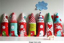 Little Pink Houses / by Button Bird Designs