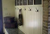 Home: mudroom/foyer / by April Mayer