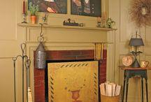 Fireplaces / by Angel Fryman