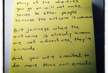 Notes I Wrotes. / by Jon Acuff