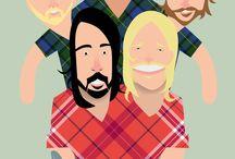 FF / Foo Fighters / by Claudio B