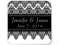 WEDDING THEMES - Damask Wedding Ideas! / Damask....Classic. Timeless.  Adds a touch of elegance to your wedding.  To see more damask wedding items, visit http://www.squidoo.com/black-and-white-wedding-theme / by JaclinArt