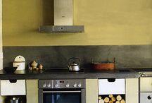 Rustic modern kitchen ideas / by Forgotten Bookmarks
