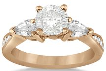 Rose Gold Engagement Rings / View our stunning collection of rose gold engagement rings. / by Allurez