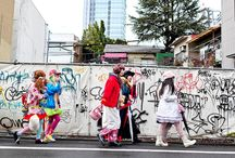 Harajuku Style / While these might not all strictly be from the Harajuku district in Tokyo, they do evoke the iconic wild fashions found there! / by Sock Dreams