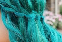 Hair I would have / all the cool crazy colors / by Victoria Burton