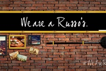 We Are Russos / Join the social conversation with the tag #WeAreRussos. Here are some of the things that define us. Whare is Russo's to you? / by Russos Restaurants