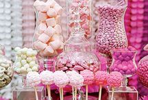 Welcome to the Candy Shop / Satisfy that sweet tooth with a trendy candy bar! Perfect for your wedding, birthday, or baby shower.  / by Beau-coup
