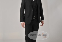 Artwedding Groom Wear  / Artwedding, wedding dresses expert, offers cheap bridegroom suits, Designer bridegroom wedding wear and bridegroom tuxedos at low price but high quality / by ArtWeddings.com