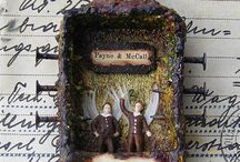 Mixed Media, Collage and Assemblage Art / by Karen Drimer